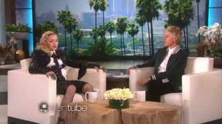 Madonna On The Ellen DeGeneres Show [5 Parts] 17.3.15