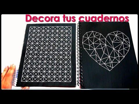 DIY♥ Cómo decorar tus cuadernos - Yami