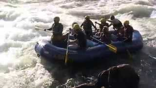 Rafting At Nile River In Jinja At Uganda