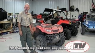 4. ATV Television - 2013 Suzuki King Quad 400 Long Term Report