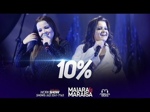 Video Maiara & Maraisa - 10% (Ao Vivo em Goiânia) download in MP3, 3GP, MP4, WEBM, AVI, FLV January 2017