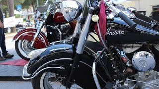 8. Indian Chief Roadmaster 1951 SV Engine and New Indian Chief Vintage 2014