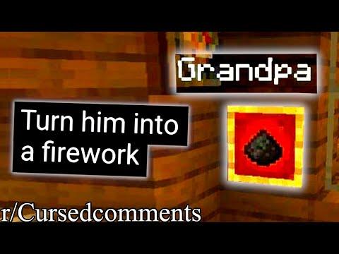 r/Cursedcomments | GRANDPA NO