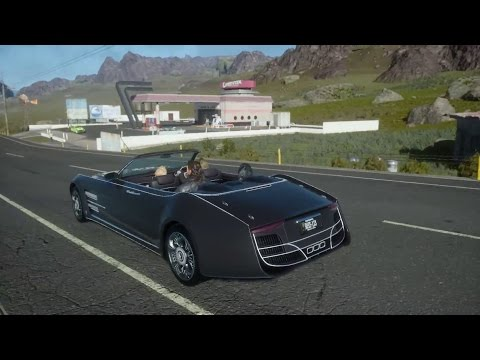 Final Fantasy 15/Final Fantasy XV – Open World Gameplay (PS4) (HD)