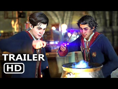 HARRY POTTER HOGWARTS LEGACY Official Trailer (2021) Harry Potter Game HD
