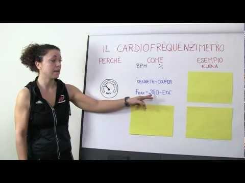 Come calcolare la FREQUENZA CARDIACA di allenamento per il cardiofrequenzimetro - Elena