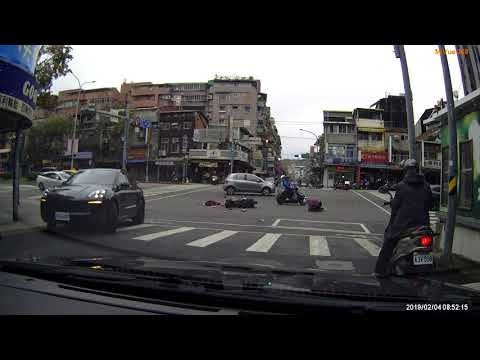 台北市 羅斯福路六段 汽機車 車禍