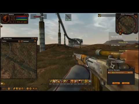 Fallen Earth Gameplay et présentation