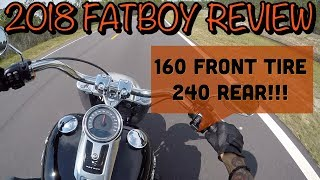 2. 2018 Harley Davidson Fatboy full and detailed review with all specs!