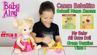 Video Baby Alive Canım Bebeğim Sebzeli Mama Zamanı - My Baby All Gone Doll Green Veggies Time MP3, 3GP, MP4, WEBM, AVI, FLV November 2017