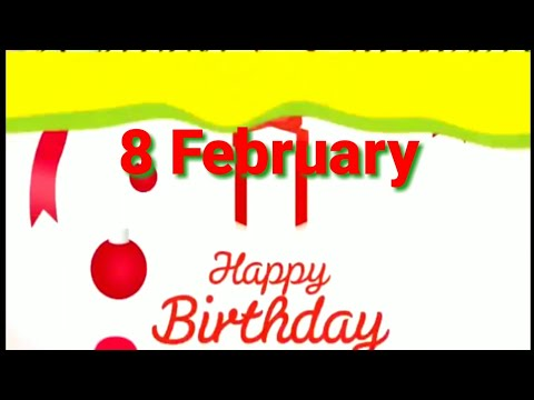 Birthday wishes for best friend - 8 February Birthday status  Birthday Status 8 february