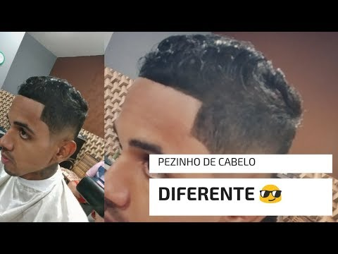 corte de cabelo; como fazer pezinho de cabelo masculino
