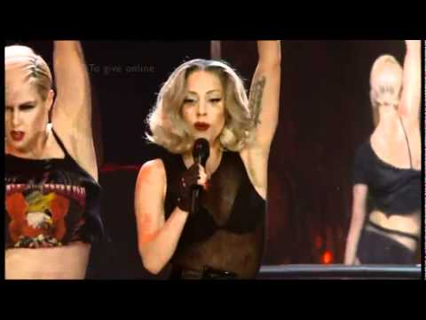 Lady Gaga - Born This Way / Marry The Night (Children in Need UK 2011) HD