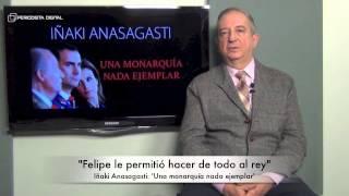 Iñaki Anasagasti, autor de 'Una monarquía nada ejemplar'. 11-12-2014