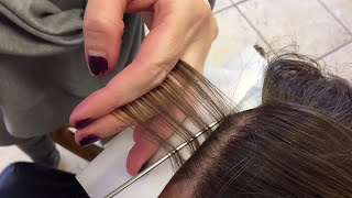 Babylights the new way to highlight hair. Multi dimensional hair color. - YouTube