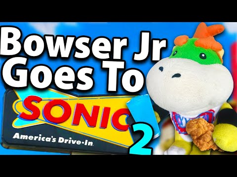Crazy Mario Bros: Bowser Jr Goes to Sonic 2!