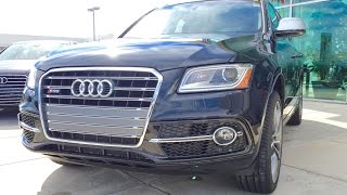 2015 Audi SQ5 (Q5) 3.0T Quattro Tiptronic Full Review / Exhaust/ Start Up