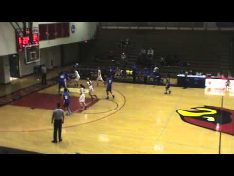 Sharnell Huff Scores 36 Points at Catholic - 1/29/14