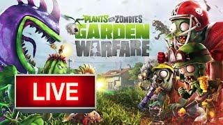 Zombie Rampage! | Plants vs Zombies: Garden Warfare - Live Stream, EA Games, video games