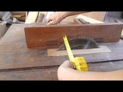 sierra casera - http://madera-fina.blogspot.com Muy buenos días, el día de hoy les presentare mi humilde sierra circular que lo hice yo mismo, esta maquina que les muestro e...