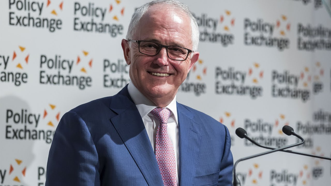 Australian Prime Minister Malcolm Turnbull Q&A session at Policy Exchange