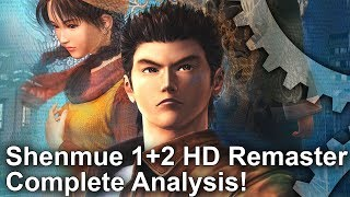 Shenmue 1+2 HD Remaster: The Ultimate Version - PS4 Pro/Xbox One X/PC and Dreamcast Tested!