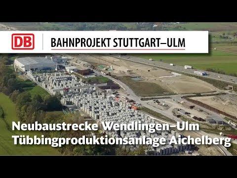 Tübbingproduktionsanlage Aichelberg...