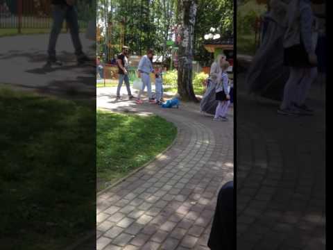 Дерзкий побег в парке Березовая роща