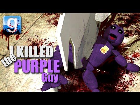 Gmod I KILLED THE PURPLE GUY! (Garry's Mod Sandbox Fun)