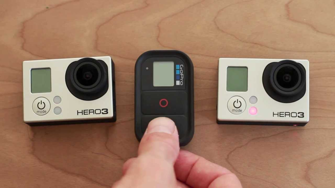 How To Use GoPro Hero 3 WiFi Remote with Multiple Cameras