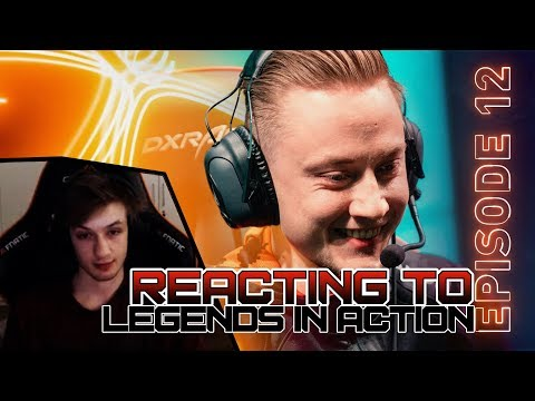 'Rekkles is baiting teams so hard' | Funny reaction to Legends in Action | Nemesis Ep.8