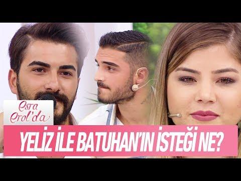 Yeliz ve Batuhan'ın isteği ne?- Esra Erol'da 18 Eylül 2017 (видео)