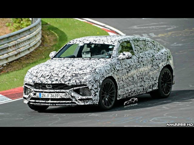 Lamborghini Urus Test Mule Spotted Testing on the Nürburgring!!