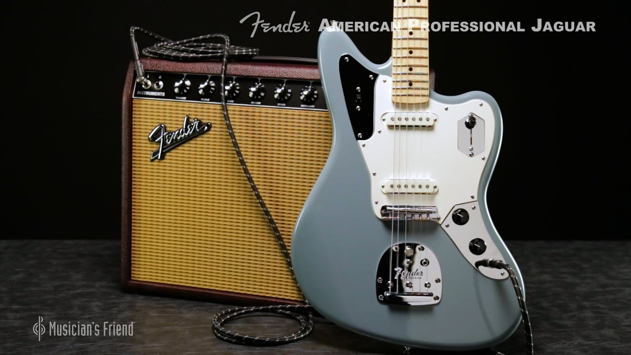 Fender American Professional Jaguar Electric Guitar