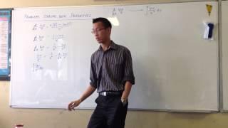 Integrating (ln x)/x²