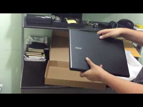 , title : 'Acer Aspire E5 Unboxing and quick Review'