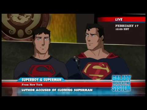 SUPERBOY MADE THE LEGION OF SUPER HEROES FUTURE