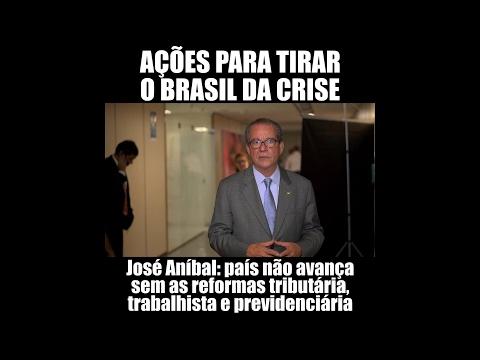 José Aníbal: reformas já para tirar o Brasil da crise