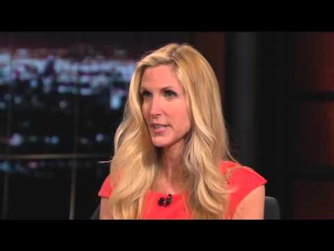 Watch This - One Year Ago Anne Coulter Predicts Trump Will Be the Nominee and Bill Maher's Audience Laughs Hysterically