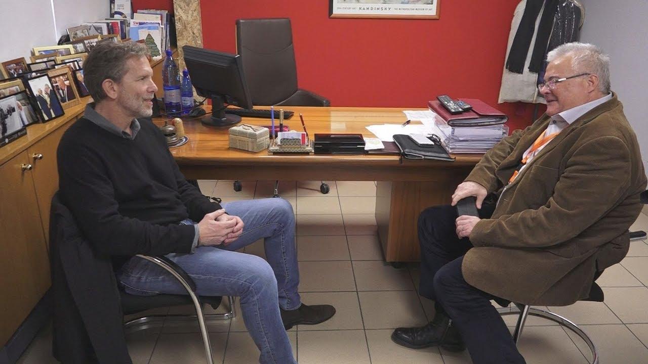 Επίσκεψη του Π. Γερουλάνου στα γραφεία του ΑΠΕ-ΜΠΕ