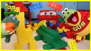 GIANT LEGO BUILDING CHALLENGE FOR KIDS! Family Fun Playtime Children Activities toys!