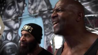 Terry Crews vs C.T. Fletcher - CARNAGE!!! Ft. Big Rob,Samson Strong & Legendary Bulo