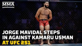 React: Jorge Masvidal Will Face Kamaru Usman at UFC 251 - MMA Fighting by MMA Fighting