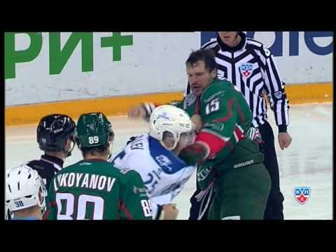 Бой КХЛ: Свитов VS Рыспаев / KHL Fight: Svitov VS Ryspayev (видео)