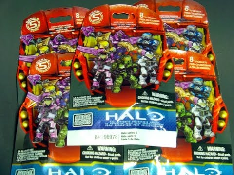 Mega Bloks - This is a blind / mystery pack opening of Halo Mega Bloks series 5. Thank's for watching.
