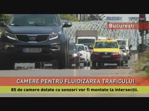 85 de camere dotate cu senzori vor fi montate în intersecţiile din București