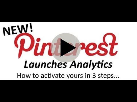 How To Activate NEW Pinterest Analytics