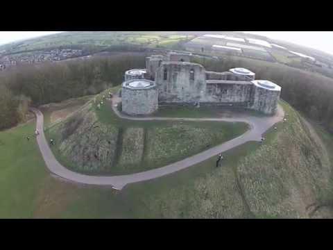 Stafford Castle, U.K - Dji Phantom 2 Vision Plus