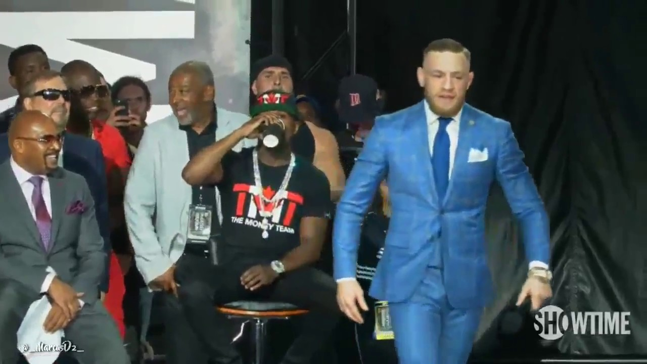 "Conor McGregor To Floyd Mayweather: ""You Can"
