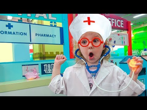 Fun Pretend Play Professions for Kids Story in the Children's museum | Compilation for Children